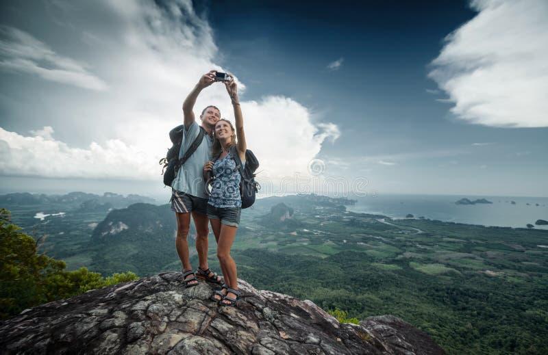 hikers fotografie stock