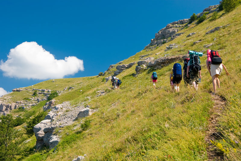 Download Hikers stock image. Image of landscape, hikers, journey - 7017717