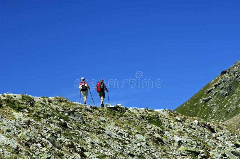 Download Hikers On The Edge Stock Photography - Image: 14587142