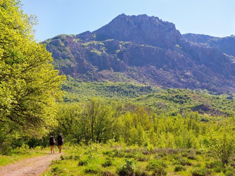 Download Hikers Group Trekking In Crimea Stock Image - Image: 35846213
