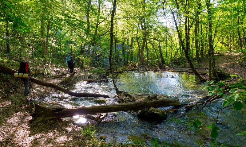 Download Hikers Group Trekking In Crimea Stock Images - Image: 35482294