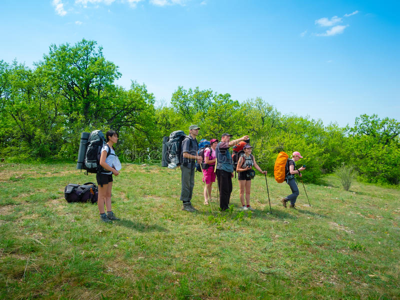Download Hikers Have A Rest Royalty Free Stock Image - Image: 25298596