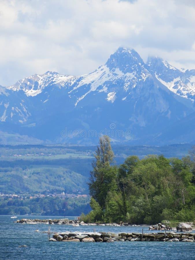 Hiking путь в юлианских alps стоковое фото