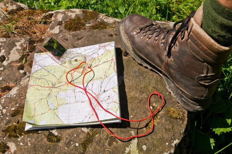 Download Hiking stock photo. Image of backpacking, stem, shoe - 15136378