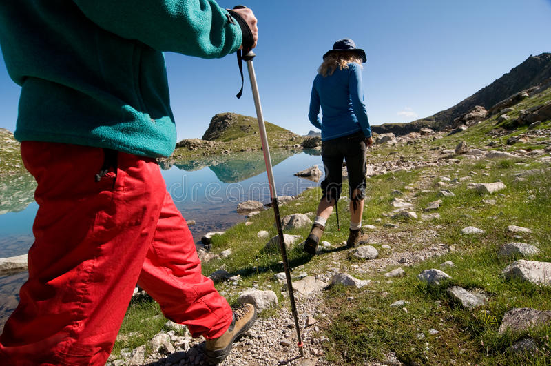 Download Hiking stock image. Image of hiker, outdoor, mountaineering - 16413603