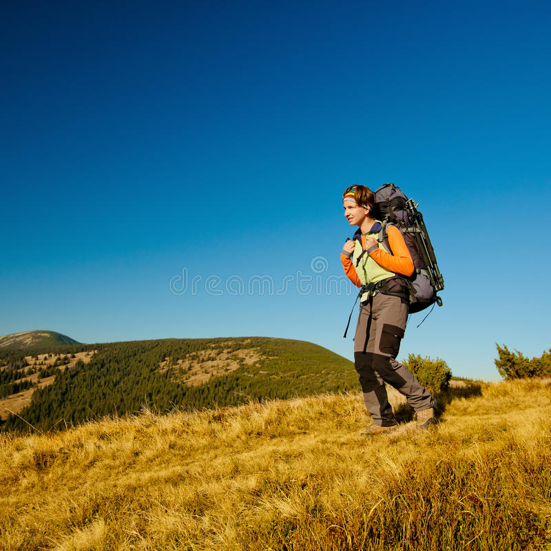 Download Hiking stock photo. Image of holiday, backpack, north - 28769732