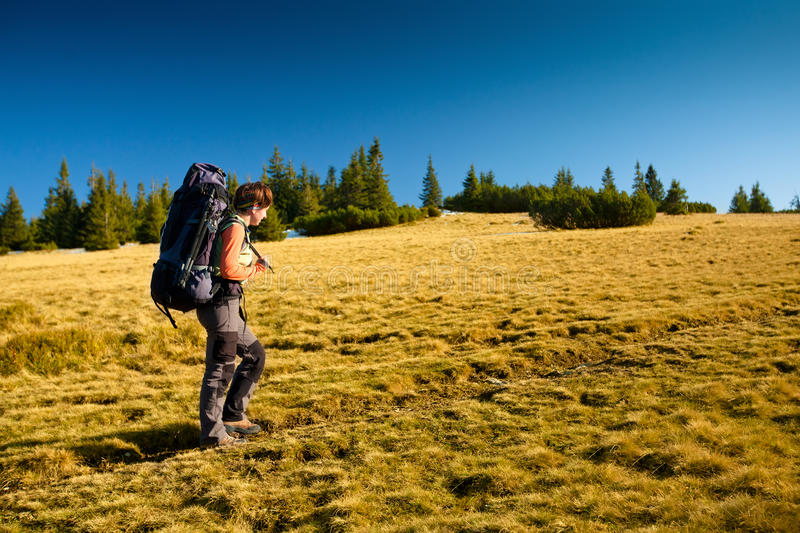 Download Hiking stock image. Image of lifestyle, nature, hiker - 28769825