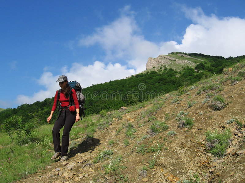 Hiking_4 imagen de archivo