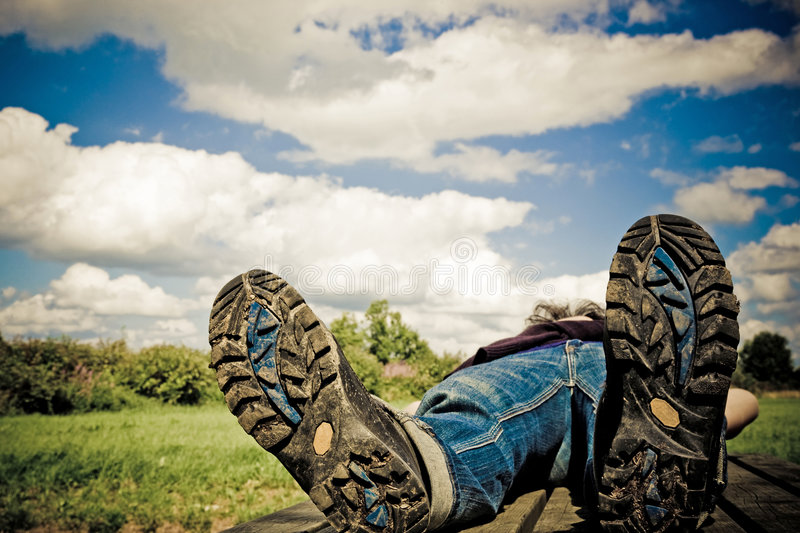 Download Hiking stock image. Image of nwanderer, sole, bottom, relaxing - 6269659