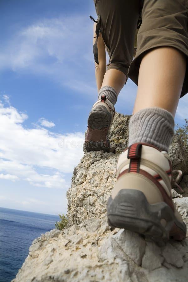 hiking στοκ εικόνες
