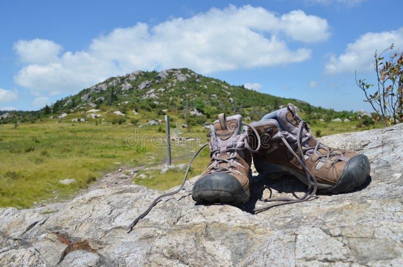 Hiking the Appalachian Trail royalty free stock photo