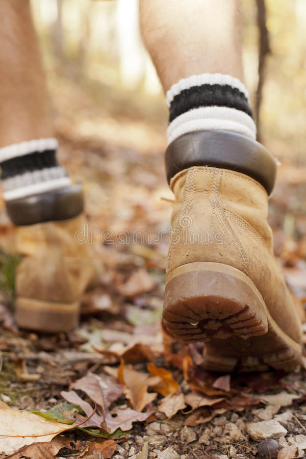 Download Hiking in Autmun stock image. Image of fall, adult, hillwalking - 21670607