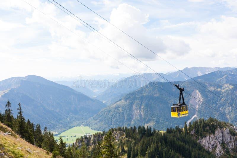Hiking in Bavaria royalty free stock photo