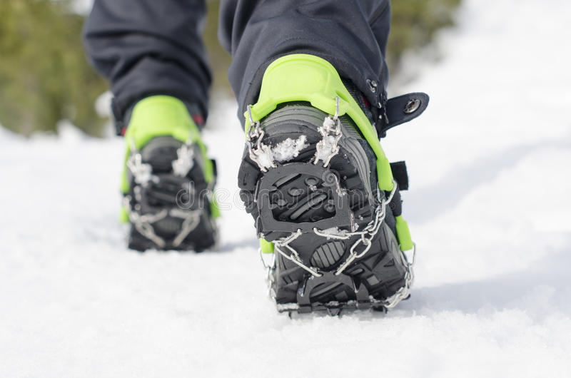 3fbb2791381 Hiking Boots Crampon Stock Images - Download 98 Royalty Free Photos