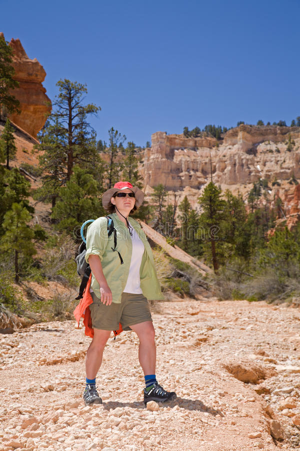 Download Hiking In Bryce Canyon Stock Photography - Image: 15296302