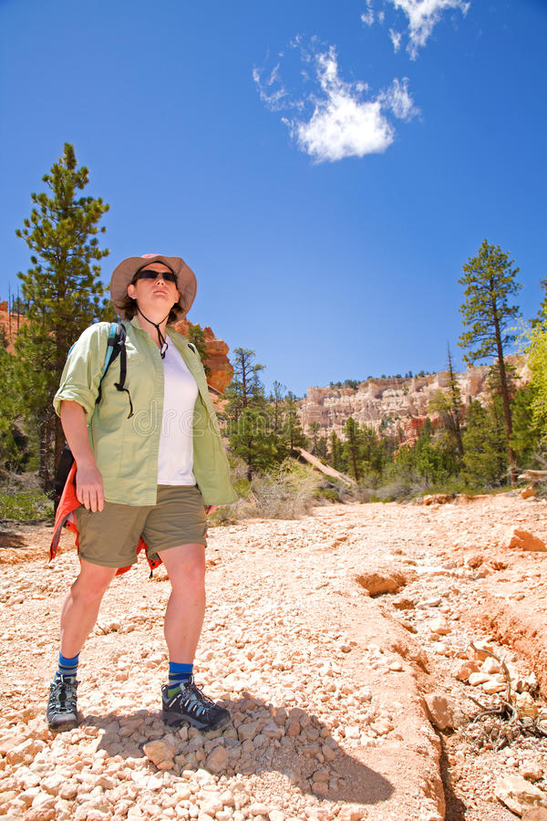 Download Hiking In Bryce Canyon Stock Photo - Image: 15919080