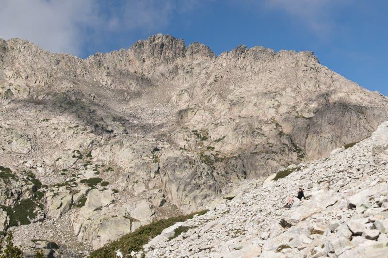 Hiking At Corsica Stock Photo
