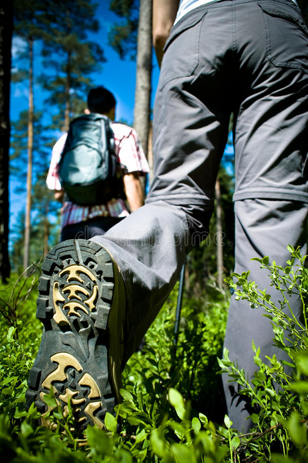 Download Hiking couple stock image. Image of female, sport, people - 11587987