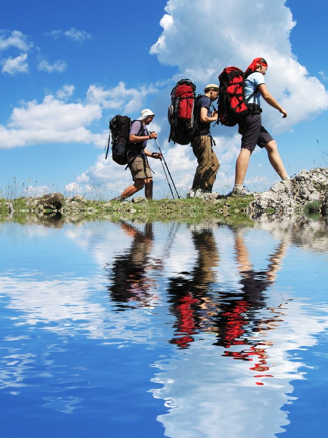 Download Hiking in Crimea stock image. Image of explore, exercise - 3846481