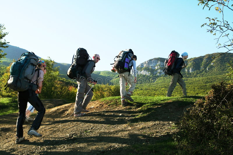 Download Hiking in Crimea stock image. Image of outdoors, adventure - 4441305