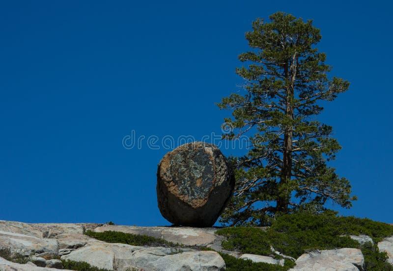Hiking In Desolation Wilderness Near Lake Tahoe stock photography