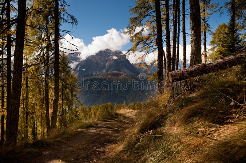 Download Hiking in Dolomite stock image. Image of europe, dolomite - 18724021