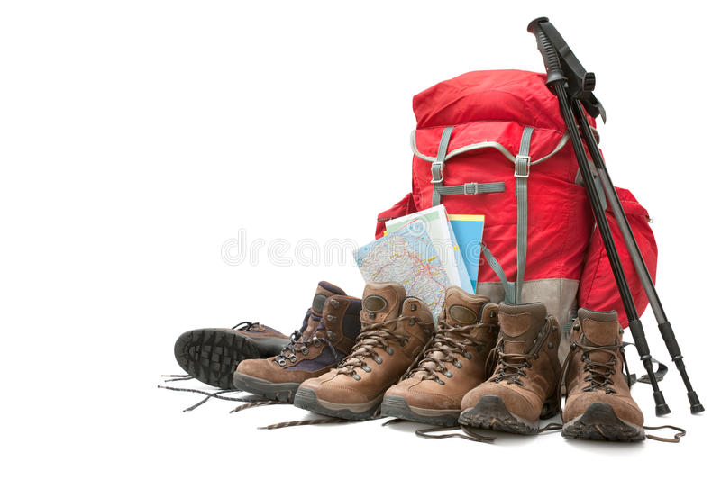 Hiking Equipment Stock Images