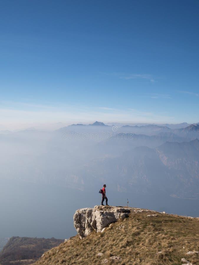 Mountains of Trentino stock photo