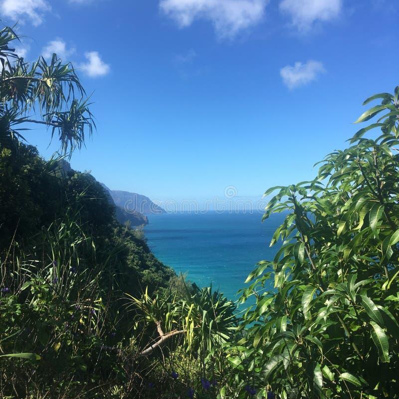 Free Hiking The Scenic Kalalau Trail To The Scenic Na Pali Coast In Kauai Hawaii Royalty Free Stock Photography - 86439097