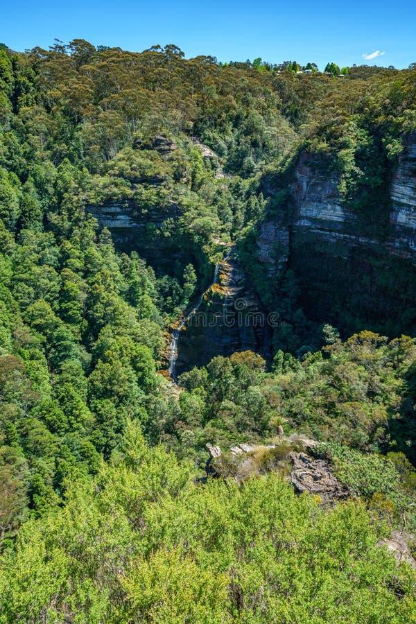 Hiking to bridal veil view, blue mountains, australia 5 stock photos