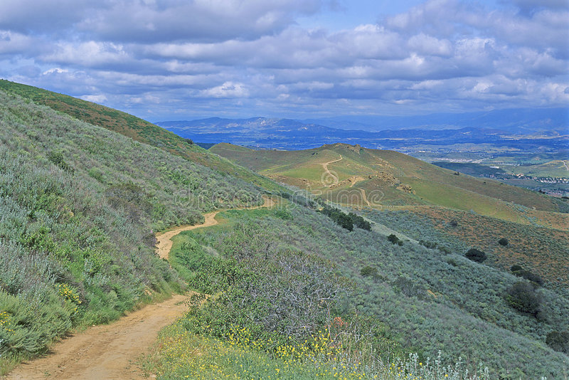 Download Hiking Trail stock photo. Image of hill, scenics, active - 1156936