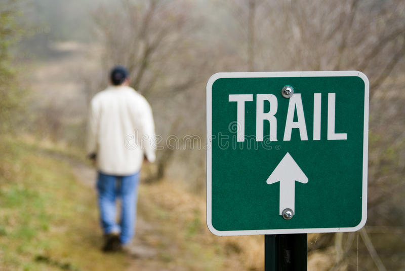 Download Hiking the trail stock photo. Image of male, urban, horizontal - 24623320