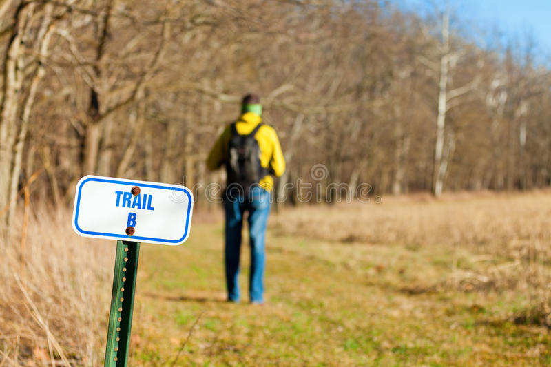 Download Hiking trail stock photo. Image of leisure, sunny, white - 29394768