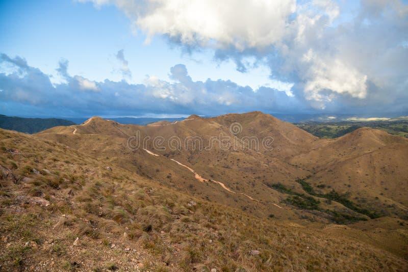 Hiking trail in Costa Rica stock photo
