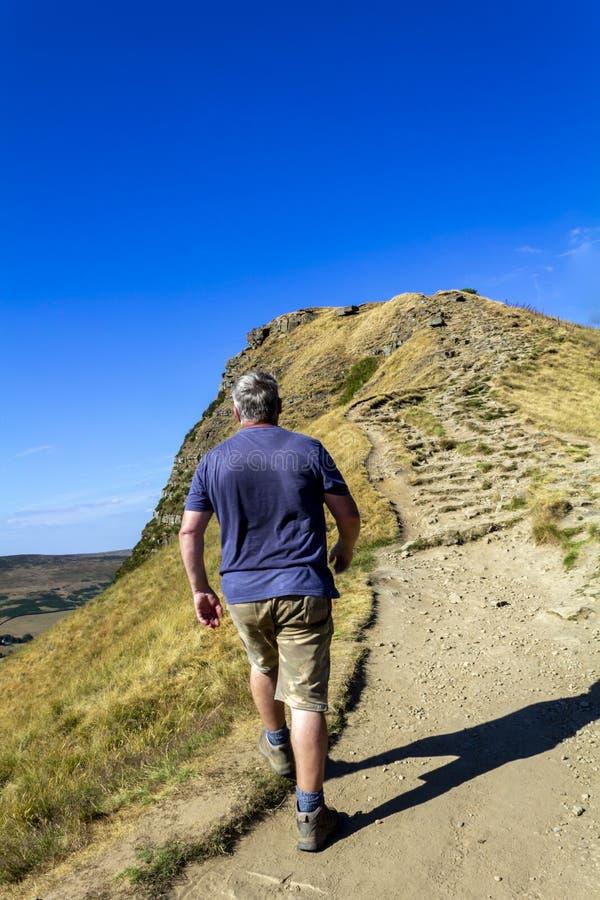 Back Tor, Peak District, UK. royalty free stock photo