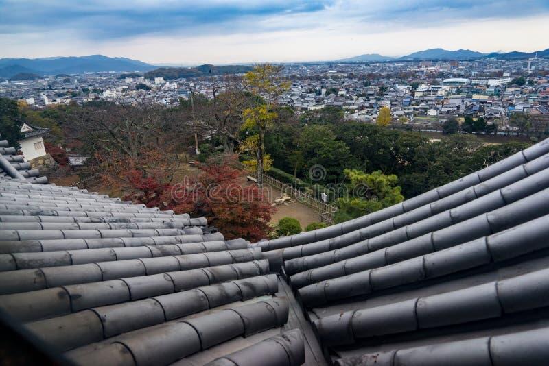 Hikone Castle stock afbeeldingen