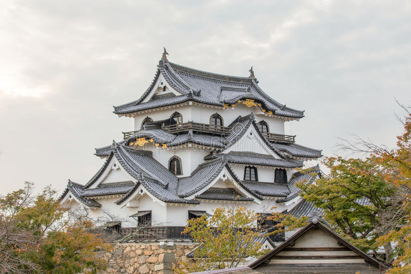 Hikone Castle royalty-vrije stock fotografie