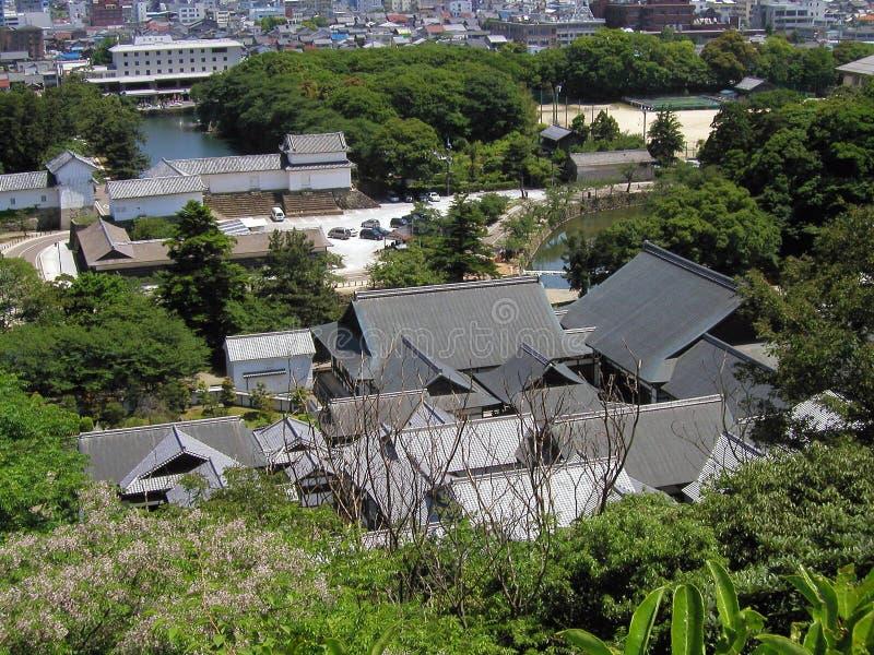 Hikone-Schloss stockbilder