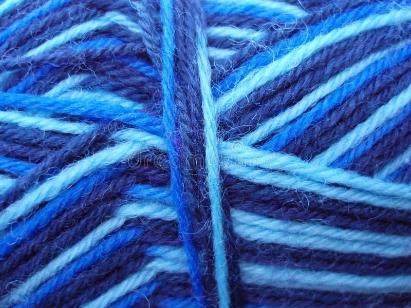 Hilado azul imagen de archivo