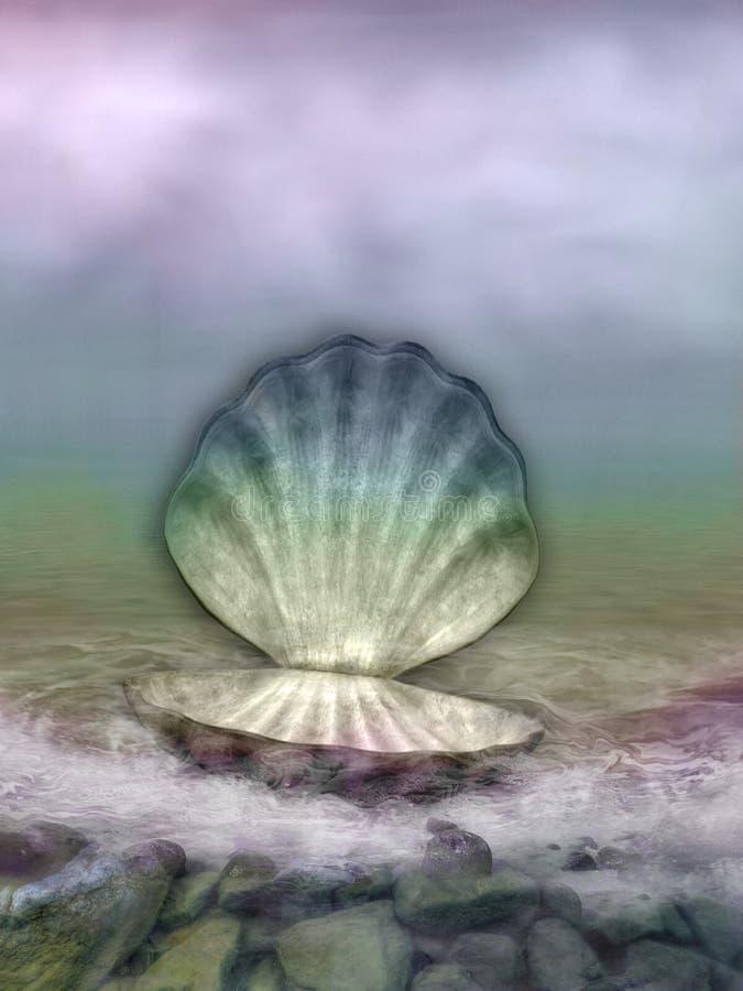 Hilado del mar ilustración del vector