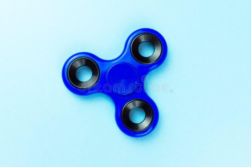 Hilandero del color azul fotografía de archivo libre de regalías