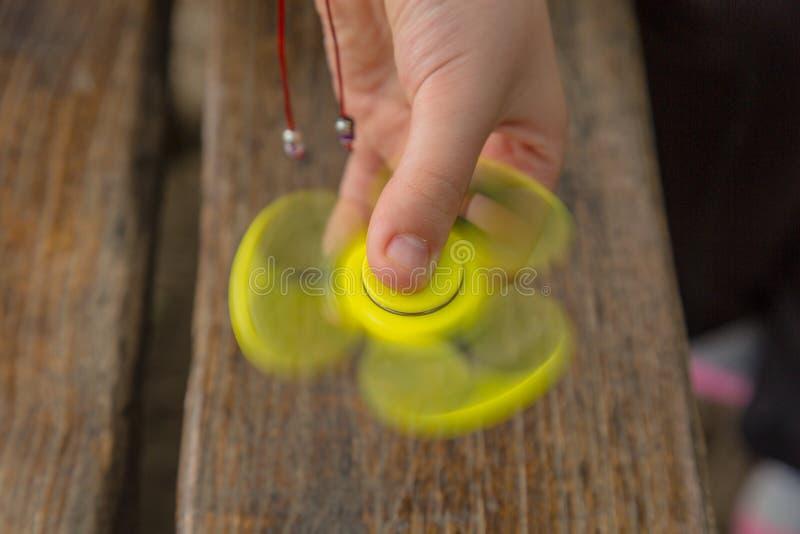 Hilandero del finger fotografía de archivo libre de regalías