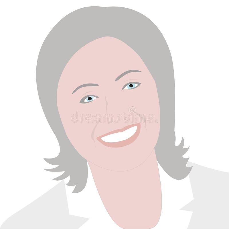 Hilary Clinton ilustracji