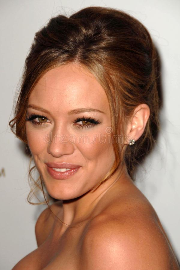 Hilary Duff Editorial Stock Image