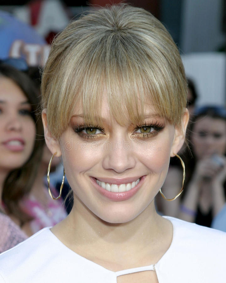 Download Hilary Duff redaktionelles stockbild. Bild von juni, angeles - 26358359