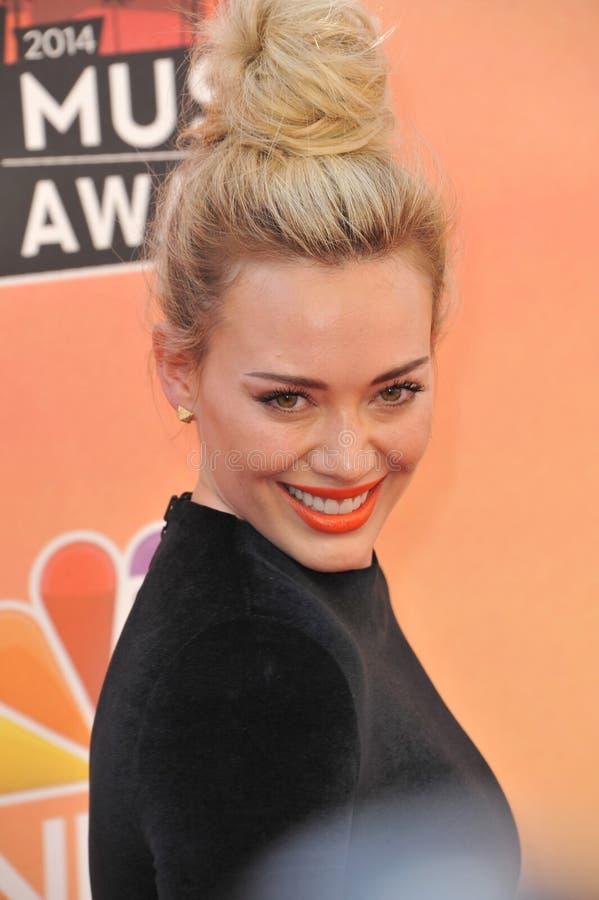 Hilary Duff zdjęcia stock
