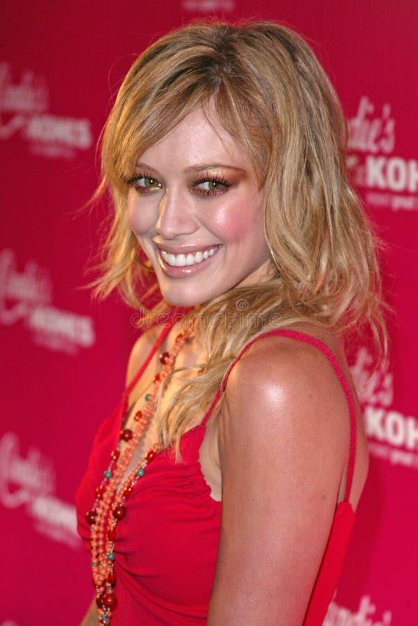 Hilary Duff zdjęcie royalty free