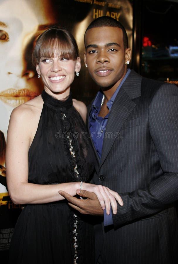 Hilary Mario i Swank fotografia royalty free