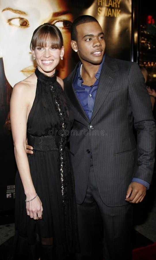 Hilary Mario i Swank obraz stock