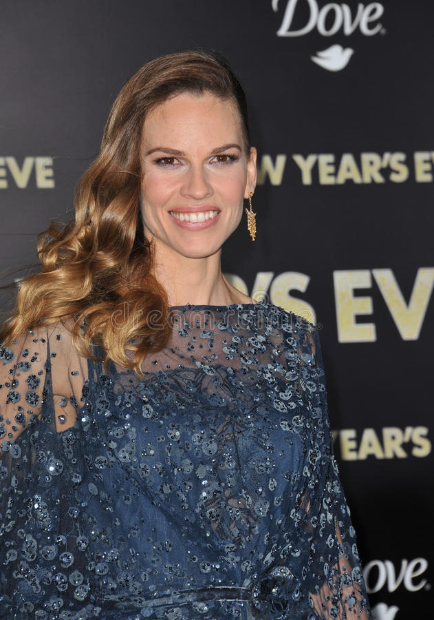 hilary swank obrazy royalty free